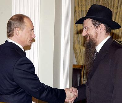 Путин жертвует свою зарплату на Еврейский музей