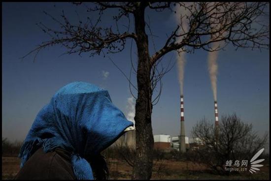 Шокирующие фотографии: загрязнение в Китае