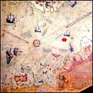 Древние карты оказались копиями