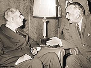 Как де Голль с США воевал.