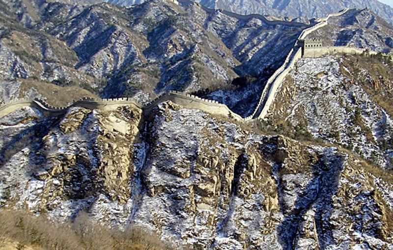 Великую стен у нельзя назвать
