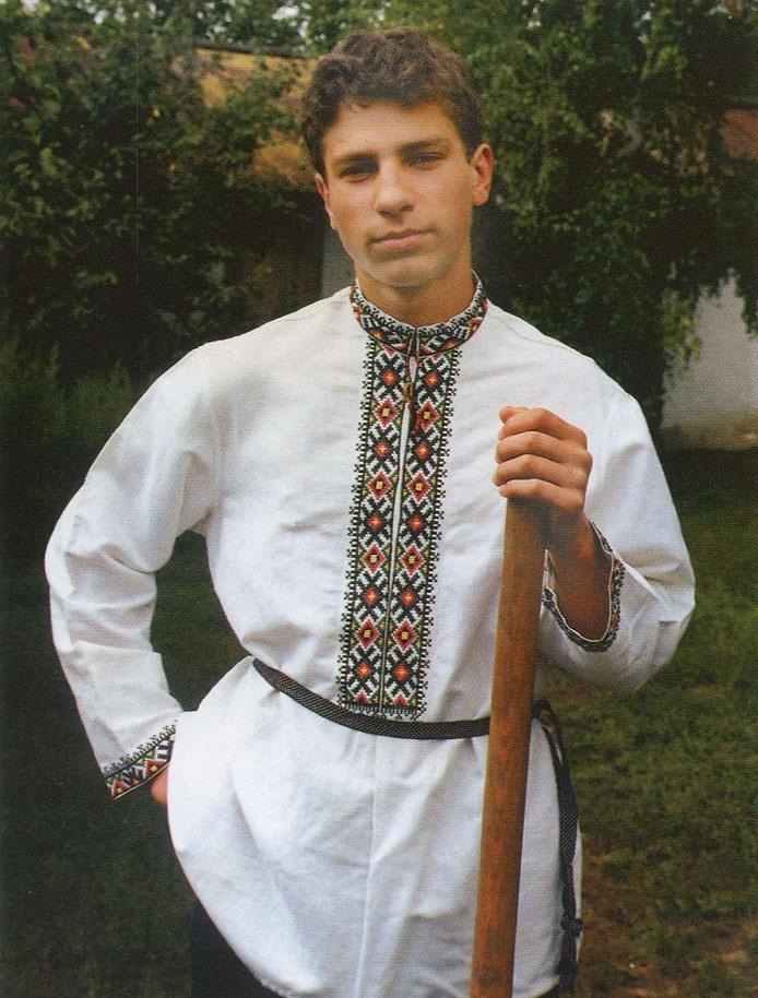 Русский народный костюм на мальчика выкройка