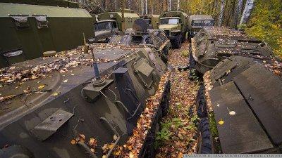 Вот она былая мощь Русской армии