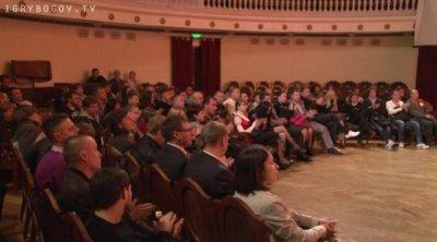Встреча Сергея Стрижака со зрителями в Волгограде 12 октября 2011г.