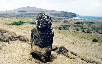 Тела статуй острова Пасхи