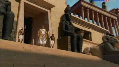 Козни египетские. Тьма над Египтом. 2 часть / The Biblical Plagues. Darkness over Egyp (2010) SATRip
