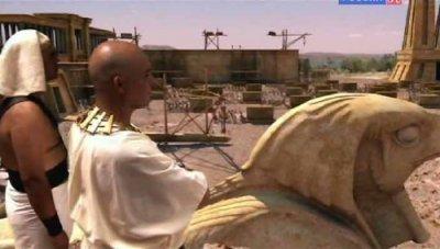 Козни египетские. Побег из Египта. 3 часть / The Biblical Plagues. Flight from Egypt (2010) SATRip