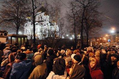 Умученный русский народ в ожидании ЧУДА