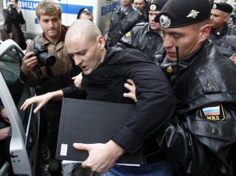 Сергей Удальцов: голодовка в спецприёмнике