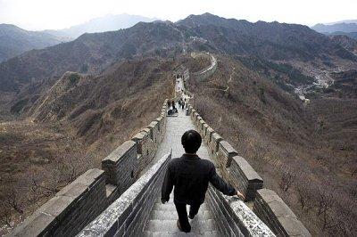 Великая Китайская стена, как продолжение Великого Шелкового пути.