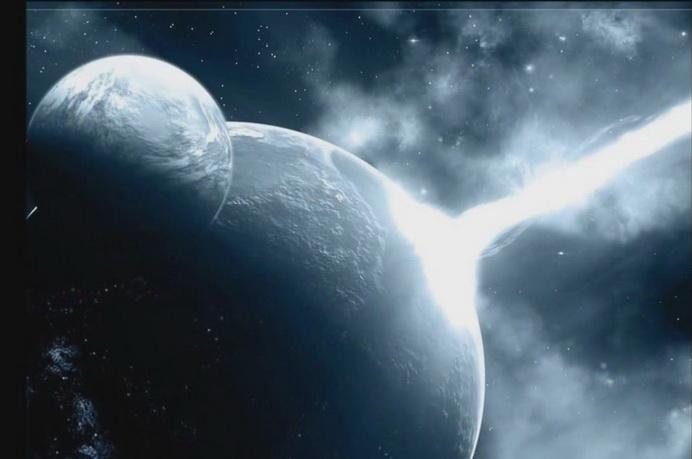 Планета Нибиру видна на фоне Луны?