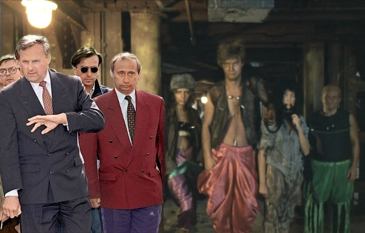 Работа Путина в Петербурге