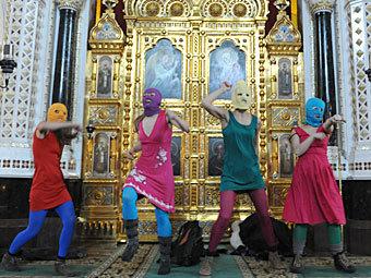 Ритуальное осквернение святынь россиянского режима