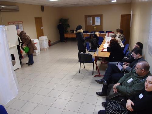 День выборов Путин подал документы для регистрации на выборы