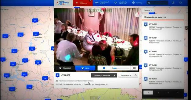 Выборы 2012: Что показывают камеры на Избирательных Участках