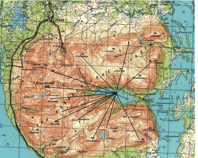 Возвращение Прародины: Миражи на Северном полюсе или тайна, скрытая в карте.