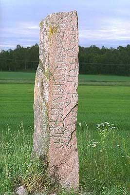 Рунические камни повествующие о Мидгард земле
