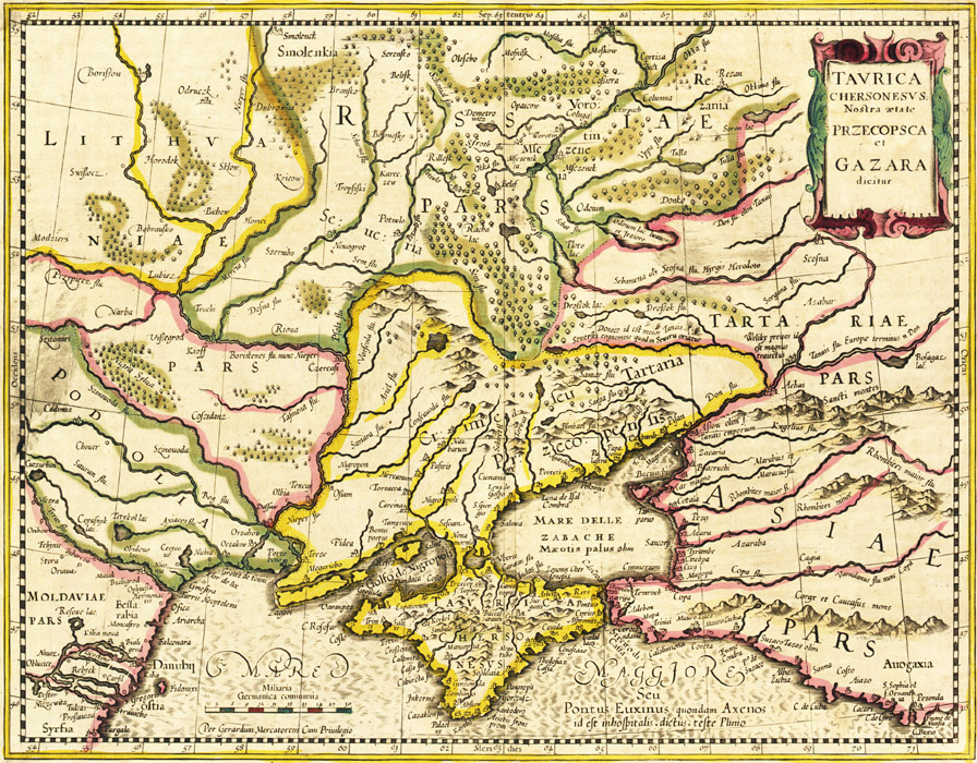 Рис.4 Карта «Таврика
