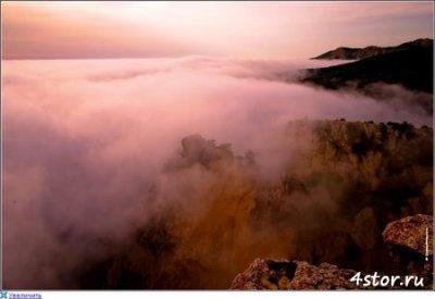 Красный туман над Байкалом
