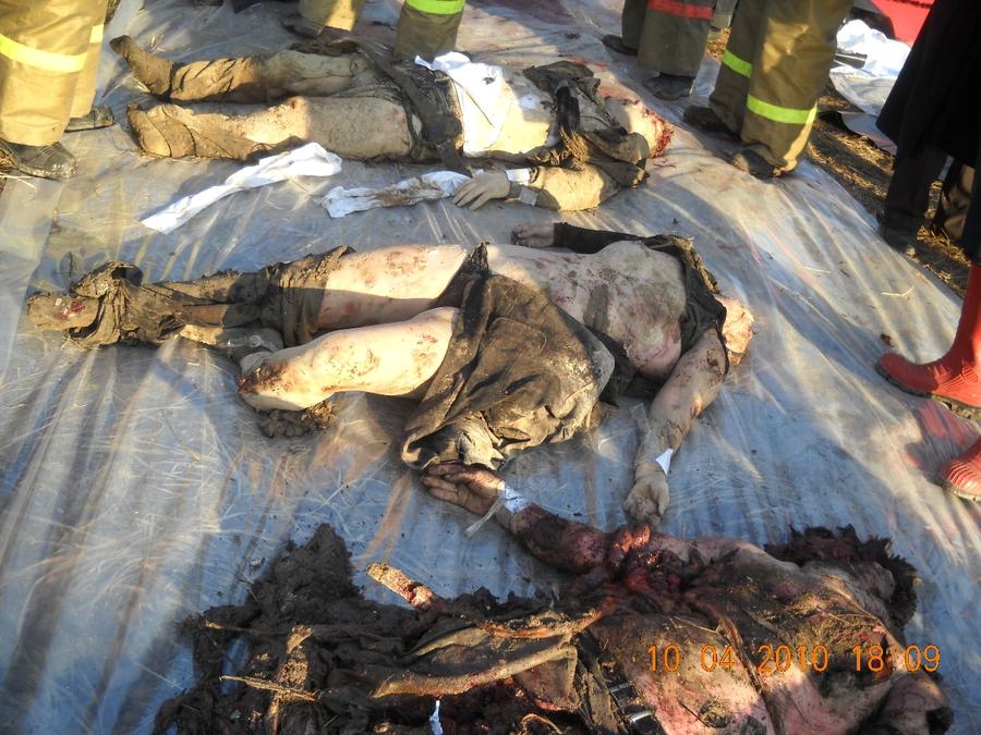 тела людей после авиакатастрофы фото