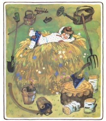 Русские народные пословицы в картинках для детей
