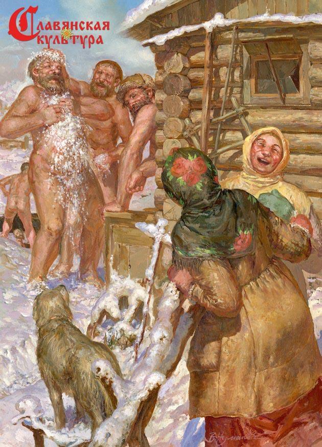 Секс истории в русской бане