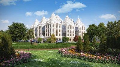Мы строим храм (Центр Ведической Культуры)