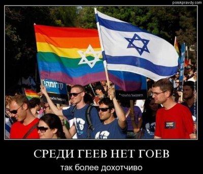 Пропаганда гомосексуализма и роль еврейства.