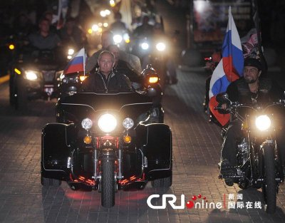 "Путин и  Хирург. Путин наградил филера и наркодилера орденом за ""воспитание молодежи"""