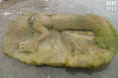 Изваяние Богини-прародительницы появилось на берегу