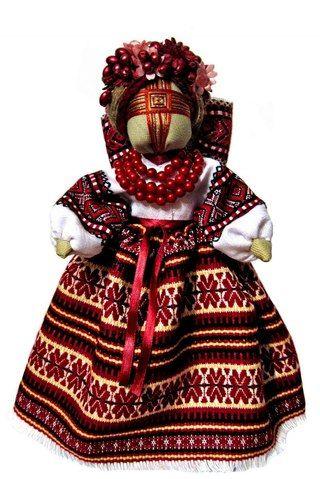 Кукла-мотанка как оберег.