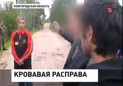 Пьяный таджик-мигрант устроил кровавую бойню в Новгороде