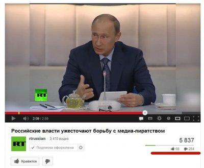 Российские власти начали борьбу с интернетом