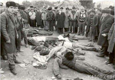 Русских в Баку убивали только за то, что они русские
