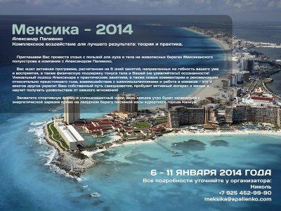 6 - 11 января 2014 года - Канкун, Мексика. Комплексное воздействие для лучшего результата: теория и практика.