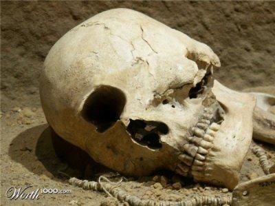 Следы древних войн и цивилизаций