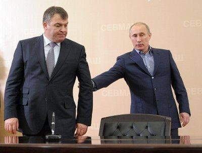 "Табуреткин-Сердюков займётся ""развитием"" Ростехнологий"