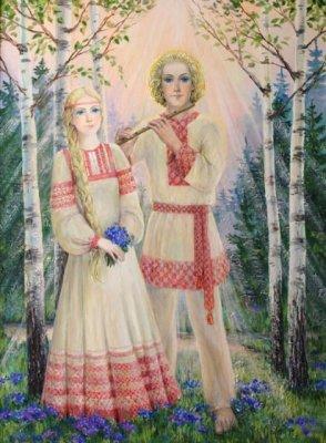 """Почему русские девицы самые красивые или что такое  """"cбой в программе любовь""""?"""