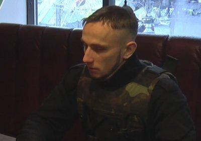 """Эксклюзивное интервью одного из координаторов Правого сектора по прозвищу """"Гранит""""."""