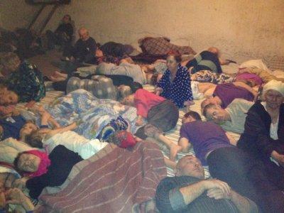 Обстрел солдатами клики жилых домов и больницы в Семеновке