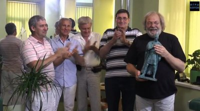 Награждение Сергея Стрижака международной премией Светослав
