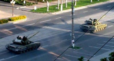 Бронетехника ополчения Новороссии