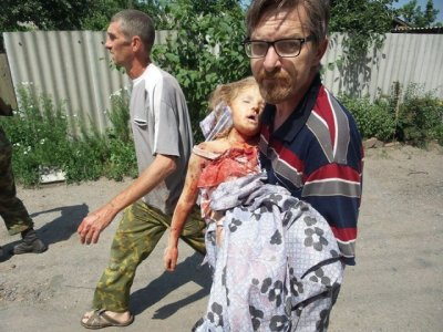 Посвящается жителям Новороссии: Малыш и мама