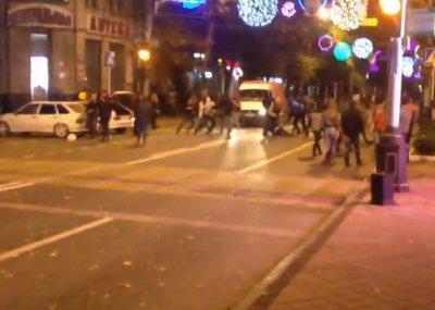 В Краснодаре за лезгинку разогнали толпу кавказцев