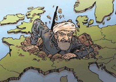 Исламизация - Азия против Европы