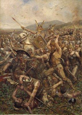 Северные и южные европейцы. Причина возникновения Римской Империи с точки зрения северной расовой теории