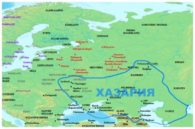 Украина - потомки хазар и авангард экспансии южных народов на Русь