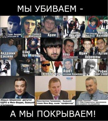 Армянский бандитизм в Минводах: прежние чиновники возвращаются на свои посты, преступники уйдут безнаказанными?