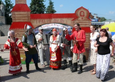 27-28 июня — всенародный фестиваль каши в Кашине