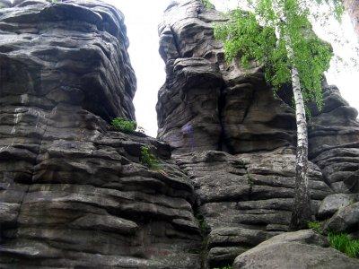 Петрогром. Мегалитические останцы в Свердловской области